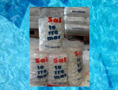 Sal en pastillas para lavavajillas